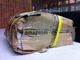 A Broken package from Amazon UK